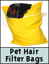 Pet Hair Filter Bag