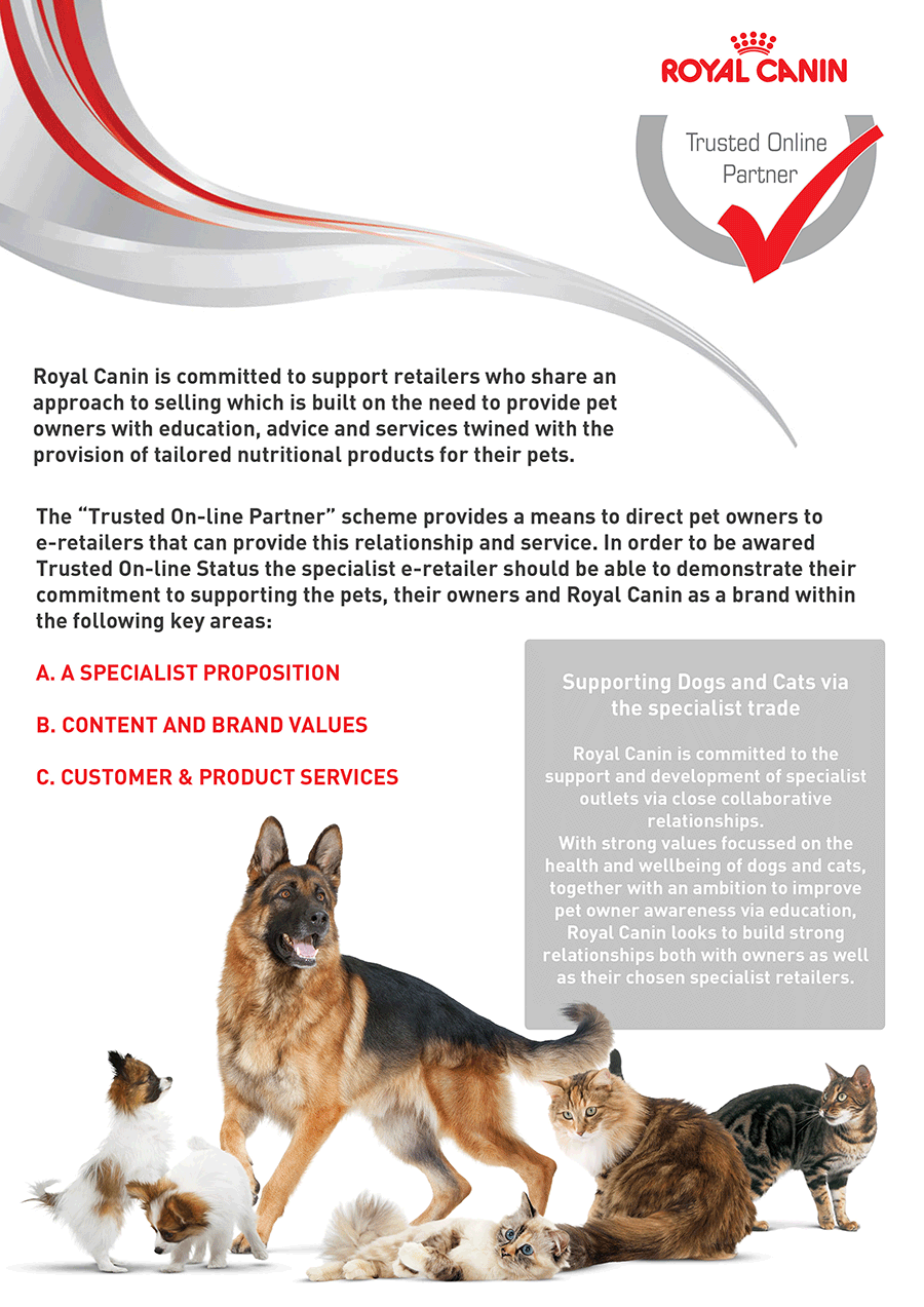 VioVet is a Trusted Online Partner of Royal Canin