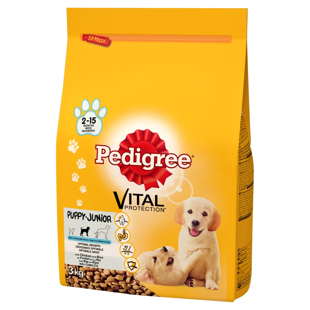 Pedigree Dog Food Give your dog the nutritional support he needs at every age. Pedigree® dog food is available in formulas designed specifically for adults and puppies, and small dogs and large breeds. And with a wide range of flavors in wet and dry options, Pedigree makes it .